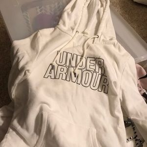 White under armour hoodie